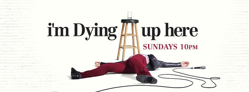 תוצאת תמונה עבור i'm dying up here poster