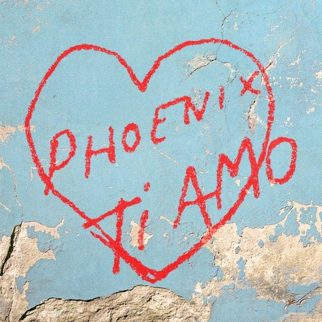 Phoenix Ti Amo Album Cover