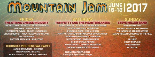 Mountain Jam 2017 Poster