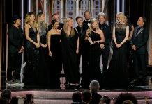 Big Little Lies Cast at The Golden Globes
