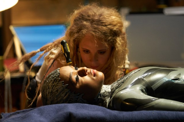 Juno Temple and Janelle Monae in Philip K. Dick's Electric Dreams
