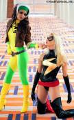 Rogue & Ms Marvel