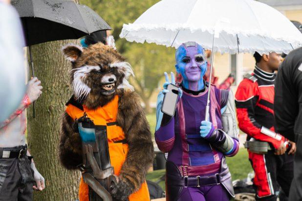 Marvel Cosplay Governor's Island Meetup: Nebula