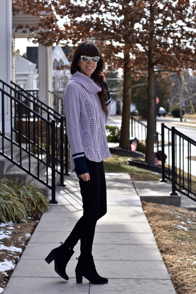 A Cowl-Neck Sweater You Need To Keep You Warm This Winter!-thepoppyskull.com