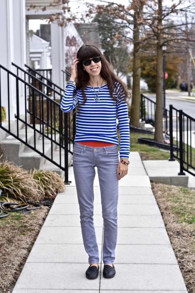 Spring Sweaters-Nautical Stripes