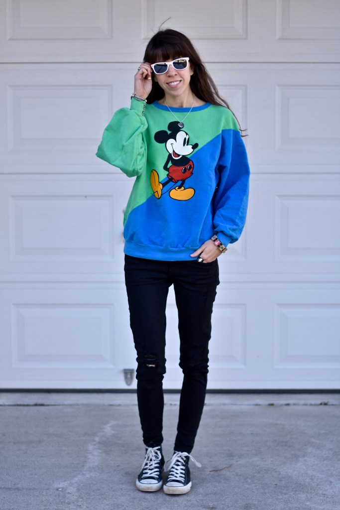Spring Sweaters- Mickey Mouse-thepoppyskull.com