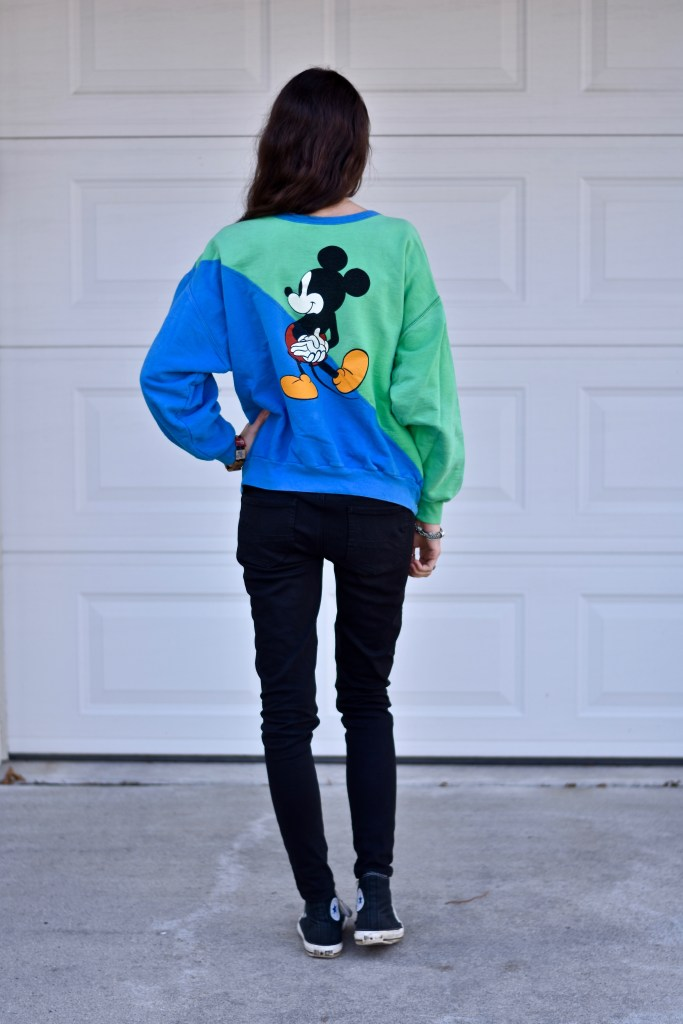 Mickey Mouse- Spring Sweaters- The Poppy Skull