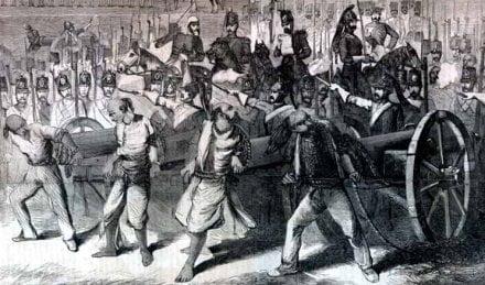 1857 revolt meerut मेरठ
