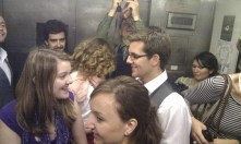 Singing in the lift? Yes please!