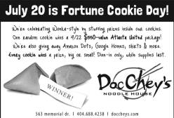 porch press - Fortune Cookie Day