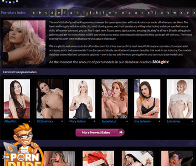 Those Who Love To Masturbate Watching Naughty Pictures Of Some Of The Hottest Models Out There Should Visit Europornstar Com This Is A Place Filled With