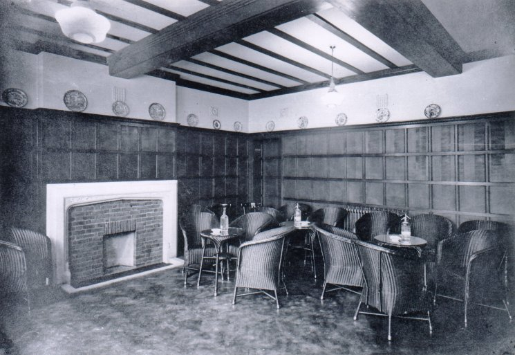 Saloon Fireplace