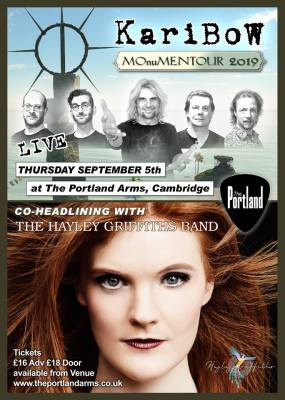 The Hayley Griffiths Band + Karibow