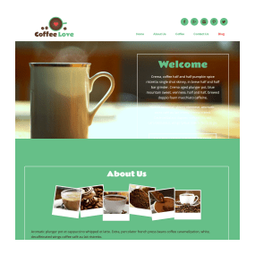 Basic One Page Website Sample