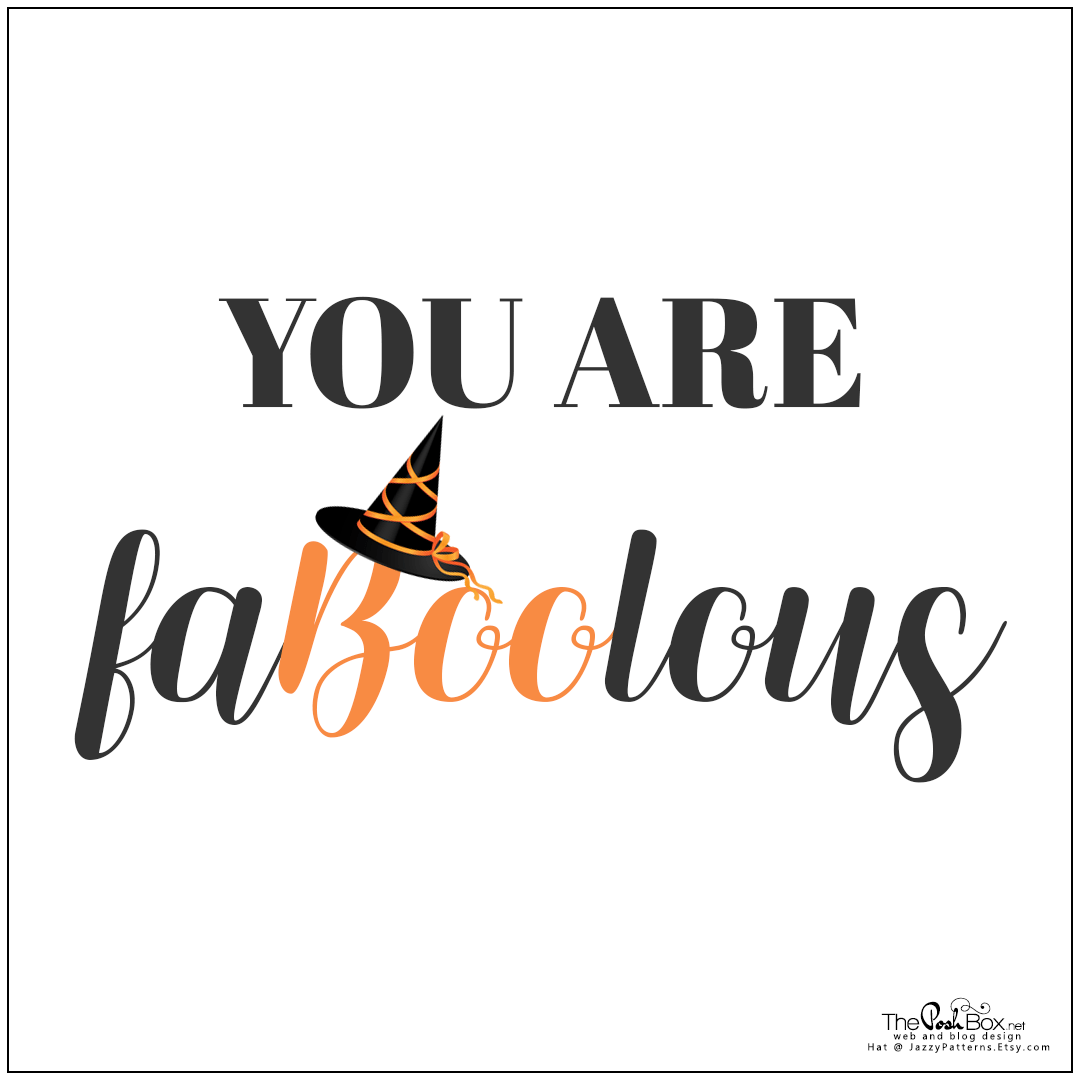 You Are FaBooLous
