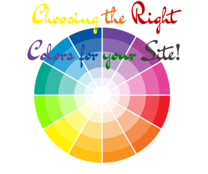 Choosing Colors for your Site