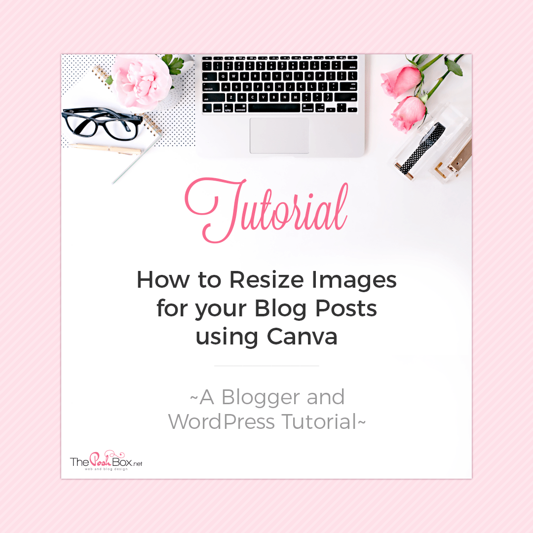 How to Resize Images using Canva