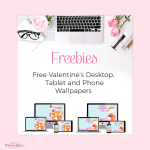 Freebie Valentine's Desktop Wallpapers
