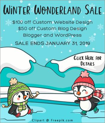 Winter Wonderland Sale 2019