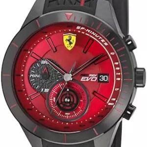 Ferrari Red Rev Evo watch 830343 - The Posh Watch Shop