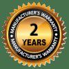 2 YEAR - manufacturers warranty - The Posh Watch Shop