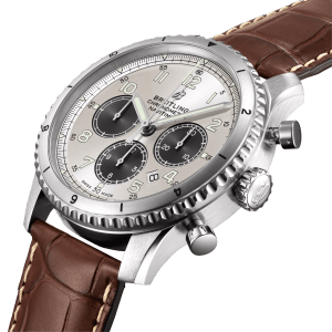 Breitling Navitimer-8 watch AB01171A1G1P1 - Side View - The Posh Watch Shop