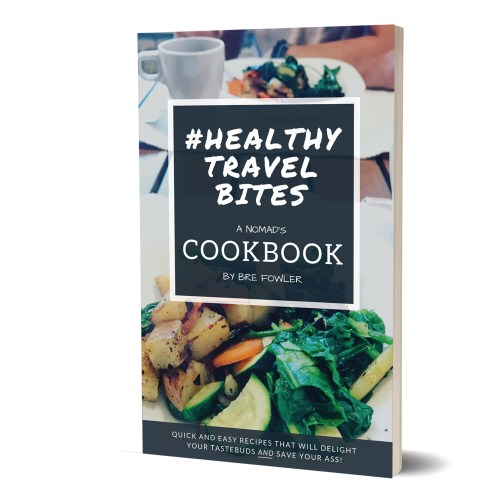 Healthy Travel Bites Cookbook for Travelers
