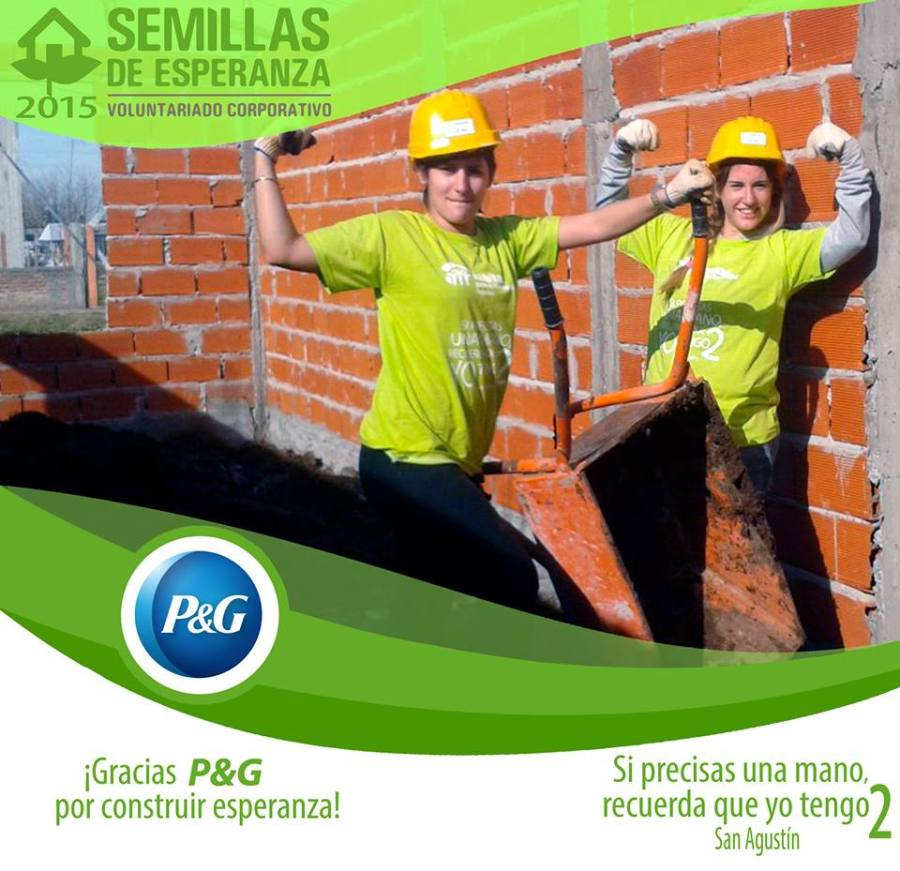 Procter & Gamble celebra y acompaña la construcción del primer hogar fruto de la alianza con Hábitat para la Humanidad 2