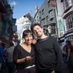 MIranda en Universal Studios