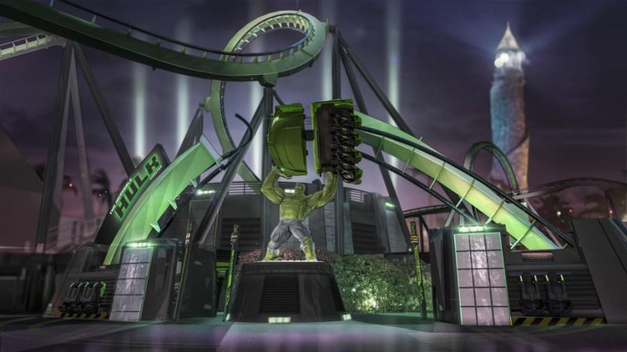 The Incredible Hulk Coaster 1_2