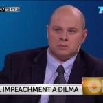 Nejamkis: «Dilma quedaría suspendida permanentemente»
