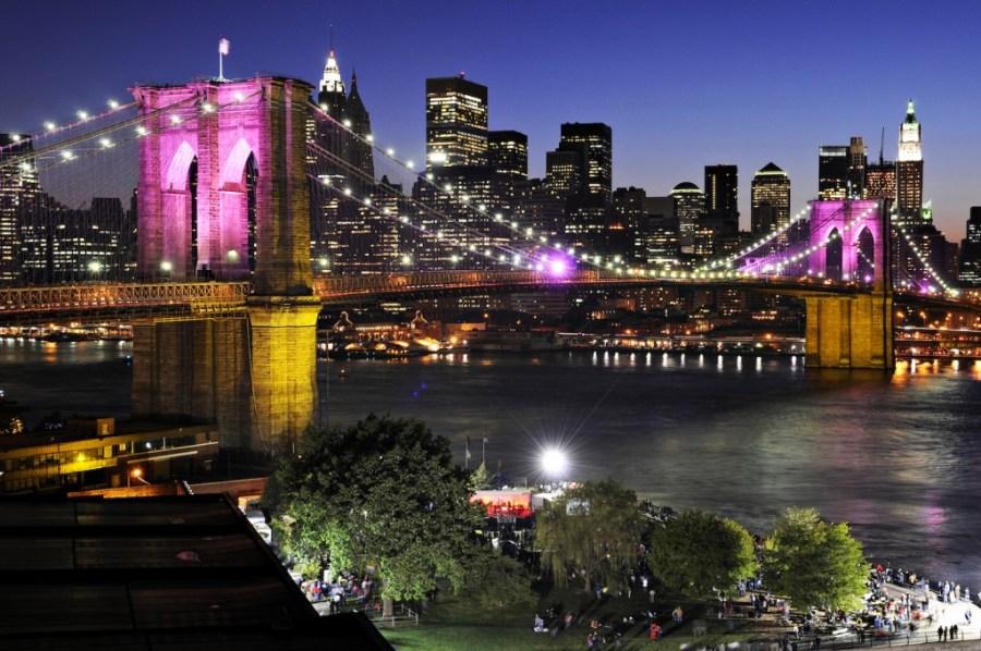 Brooklyn Bridge 125th Anniversary, Dumbo, Brooklyn
