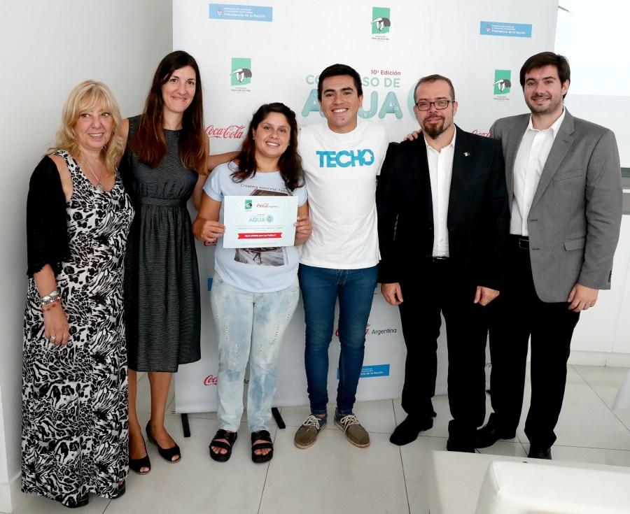 Techo Argentina ganó con su proyecto Agua potable para Los Patitos II - Misiones