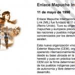 A propósito de «The Mapuche Nation»