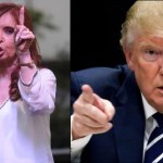 Cristina y Trump cortados por la misma tijera