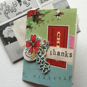 Handmade Card: Pin-Up Meets World Travel