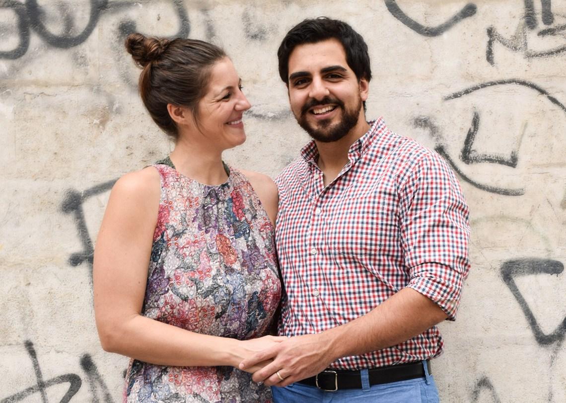Lindsey and Hernan | The Postman's Knock