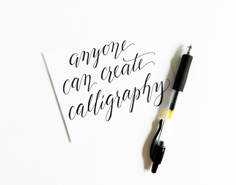 The beginner s guide to modern calligraphy part ii