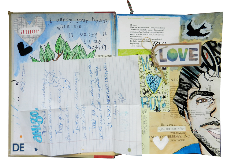 Sketchbook Journal   The Postman's Knock by Lindsey Bugbee