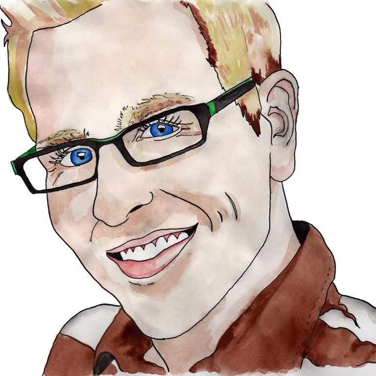 How to Create a Watercolor Portrait   The Postman's Knock