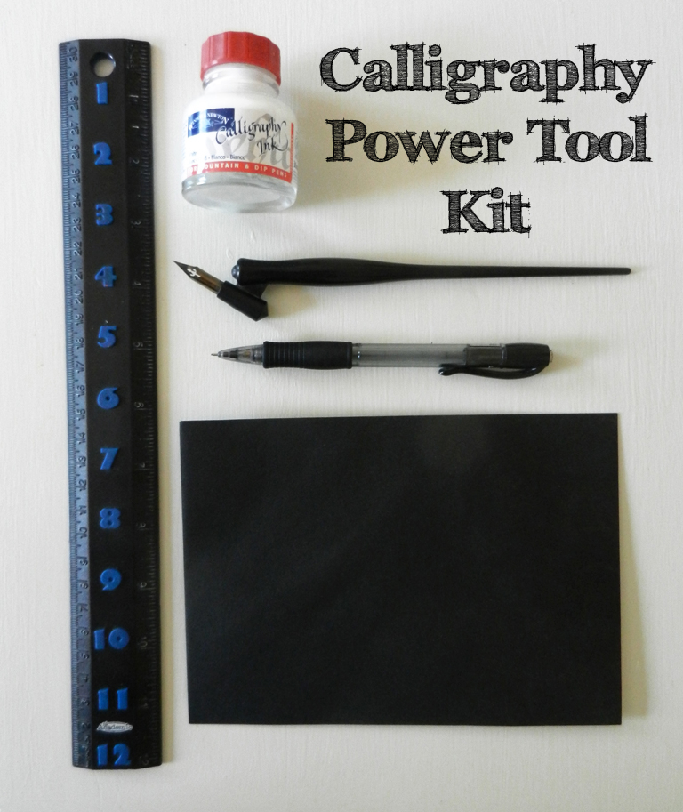Calligraphy Power Tool Kit | The Postman's Knock