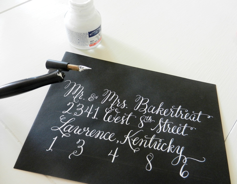 Why won't my calligraphy pen work...?