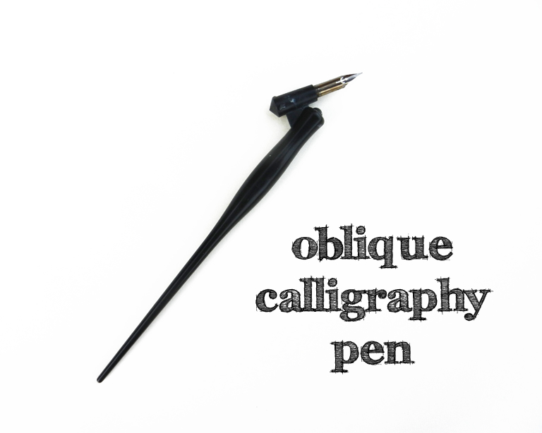 How To Use An Oblique Calligraphy Pen The Postman 39 S Knock