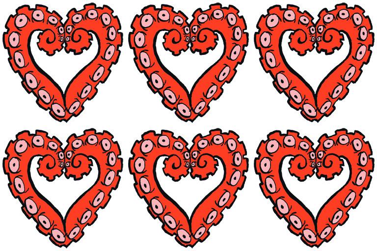 Six Hearts Tentacles | The Postman's Knock