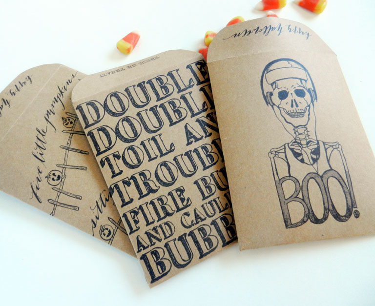 DIY Halloween Goody Bags | The Postman's Knock