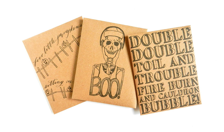 Printable Halloween Goody Bags   The Postman's Knock
