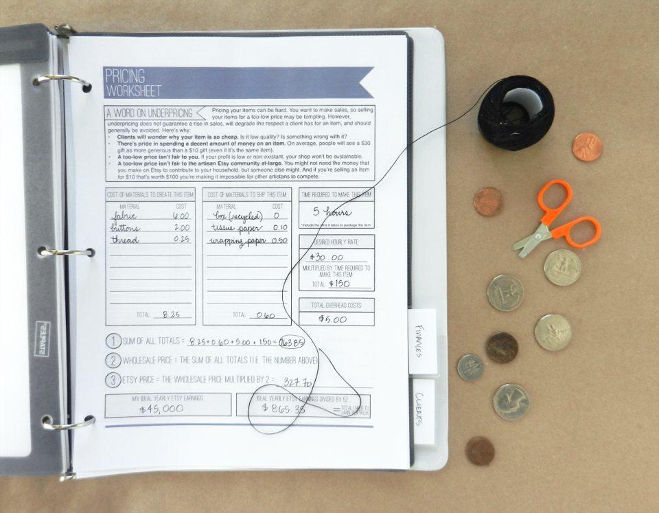 Etsy Seller Organization System | The Postman's Knock