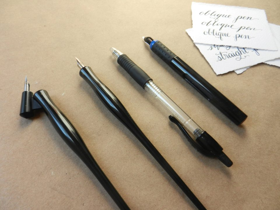 Calligraphy Pen Comparison | The Postman's Knock