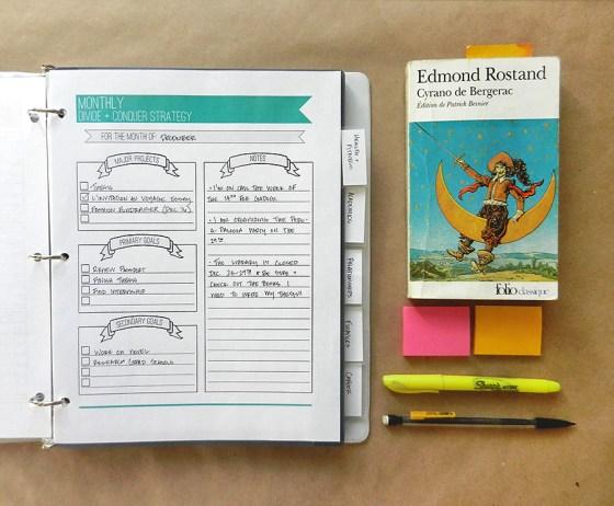 Life Organization College Planner | The Postman's Knock