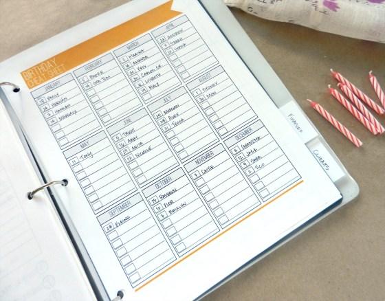 Comprehensive Life Organization System + Planner | The Postman's Knock